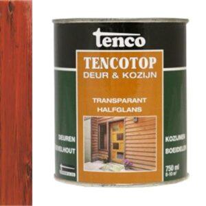 Tenco tencotop deur & kozijn transparant halfglans 202 iroko teak 750ml