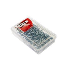 Draadnagels platkop 1.6 x 25 mm verzinkt 200 gr.