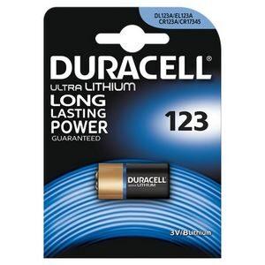 DURACELL ULTRALITHIUM 1 X 123 3VZWART DURACELL