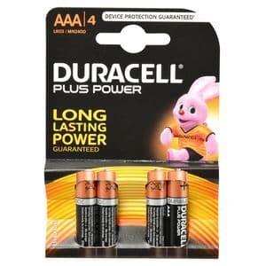 DURACELL PLUSPOWER 4 X AAA 1.5VZW ART DURACELL