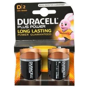 DURACELL PLUSPOWER 2 X D 1.5V  ZW ART DURACELL