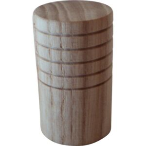 Cilinderknop 18x30mm essen