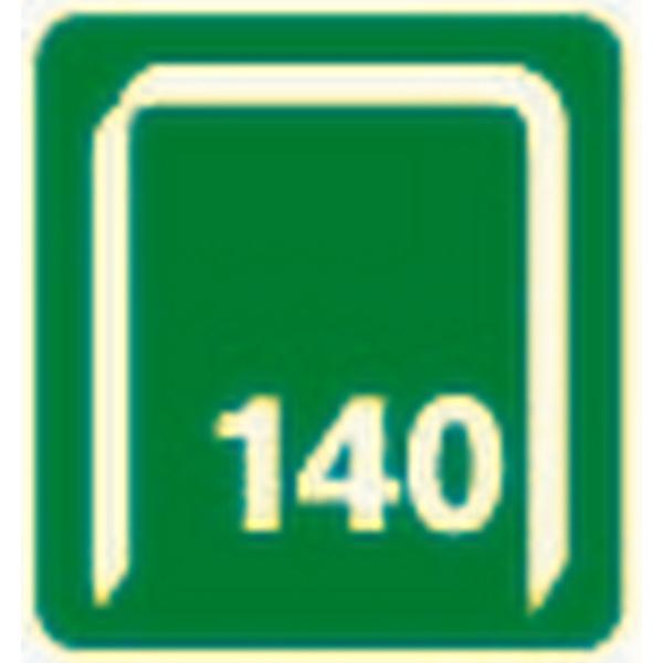 Rapid Nieten 140 12 mm 650St