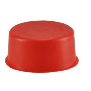 PVC Afv Speciedeksels rood 125mm