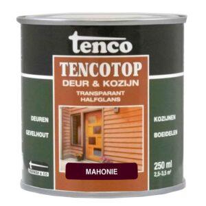 Tenco tencotop deur & kozijn transparant halfglans 202 iroko teak 250ml