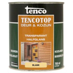 Tenco tencotop deur & kozijn transparant halfglans 201 blank 750ml