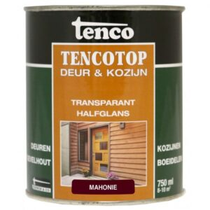 Tenco tencotop deur & kozijn transparant halfglans 209 mahonie 750ml
