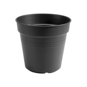 GREEN BASICSKWEEKPOT 35CMLIVING BLACK