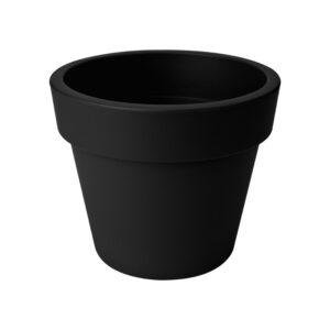 Top Planter 23Cm Green Basics Black Elho