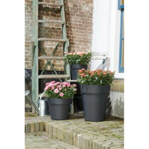 Op Planter 30Cm Green Basics Black Elho